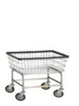 100E - R&B Wire Standard Laundry Cart*