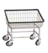 200S R&B Wire Large Capacity Front Load Laundry Cart