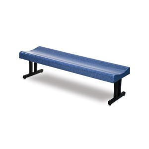 "BFS-72 72"" Contoured Backless Bench"