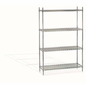"CWS-1848 48"" Chrome Wire Shelf"
