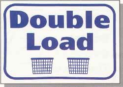Double Load Wall Sign