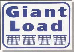 Giant Load Wall Sign