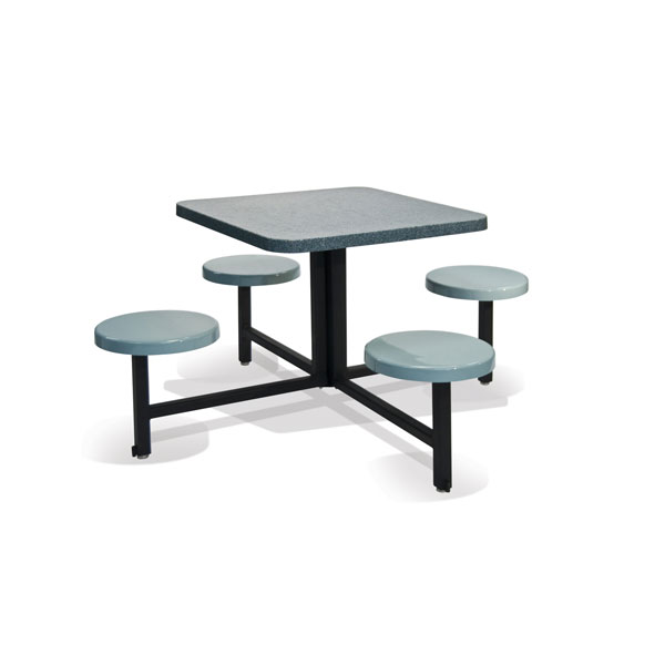 STF-3030 4 Seats and Square Table Unit