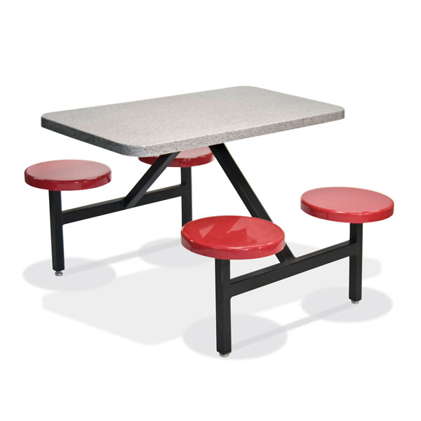 STF-2444 4 Seat & Long Table Unit